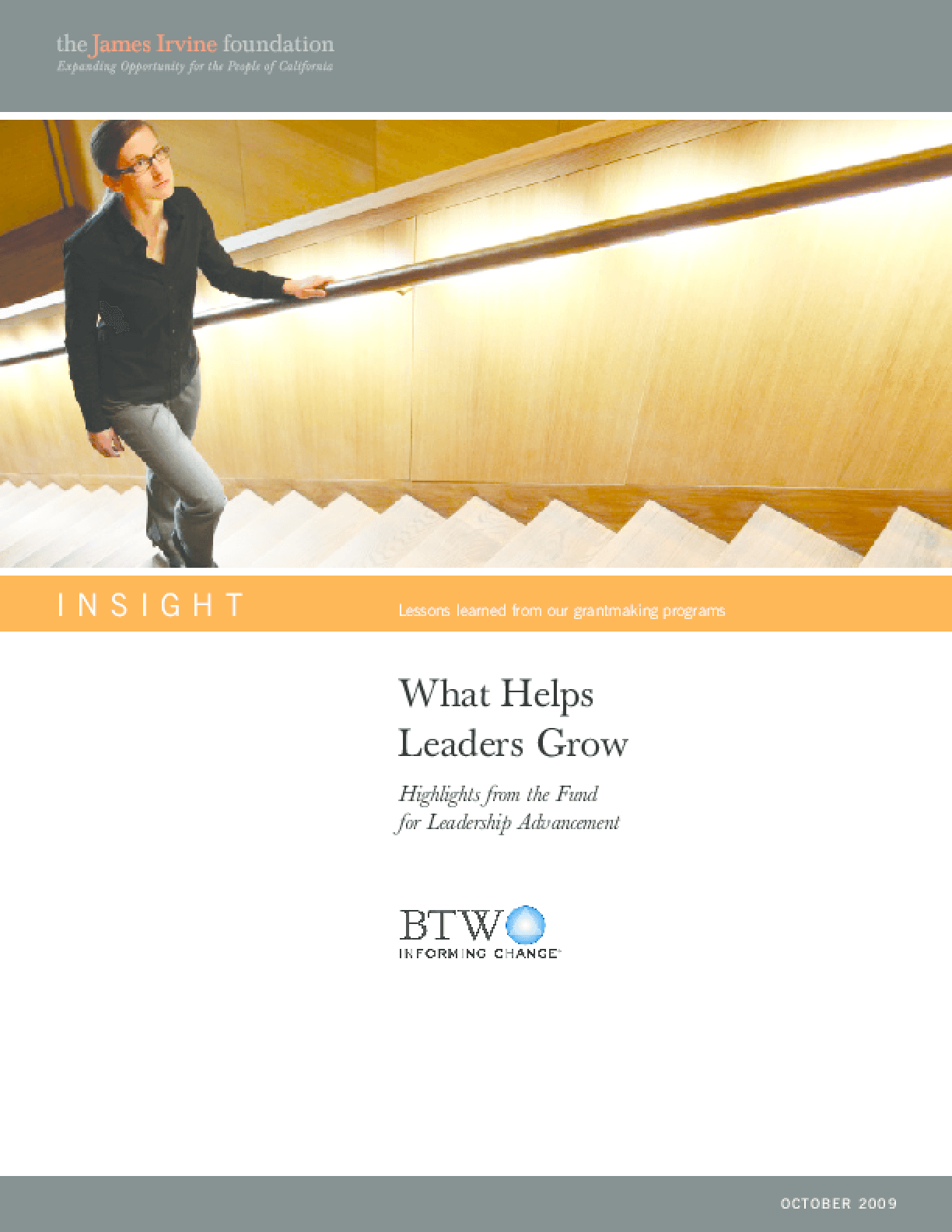 What Helps Leaders Grow: Highlights from the Fund for Leadership Advancement