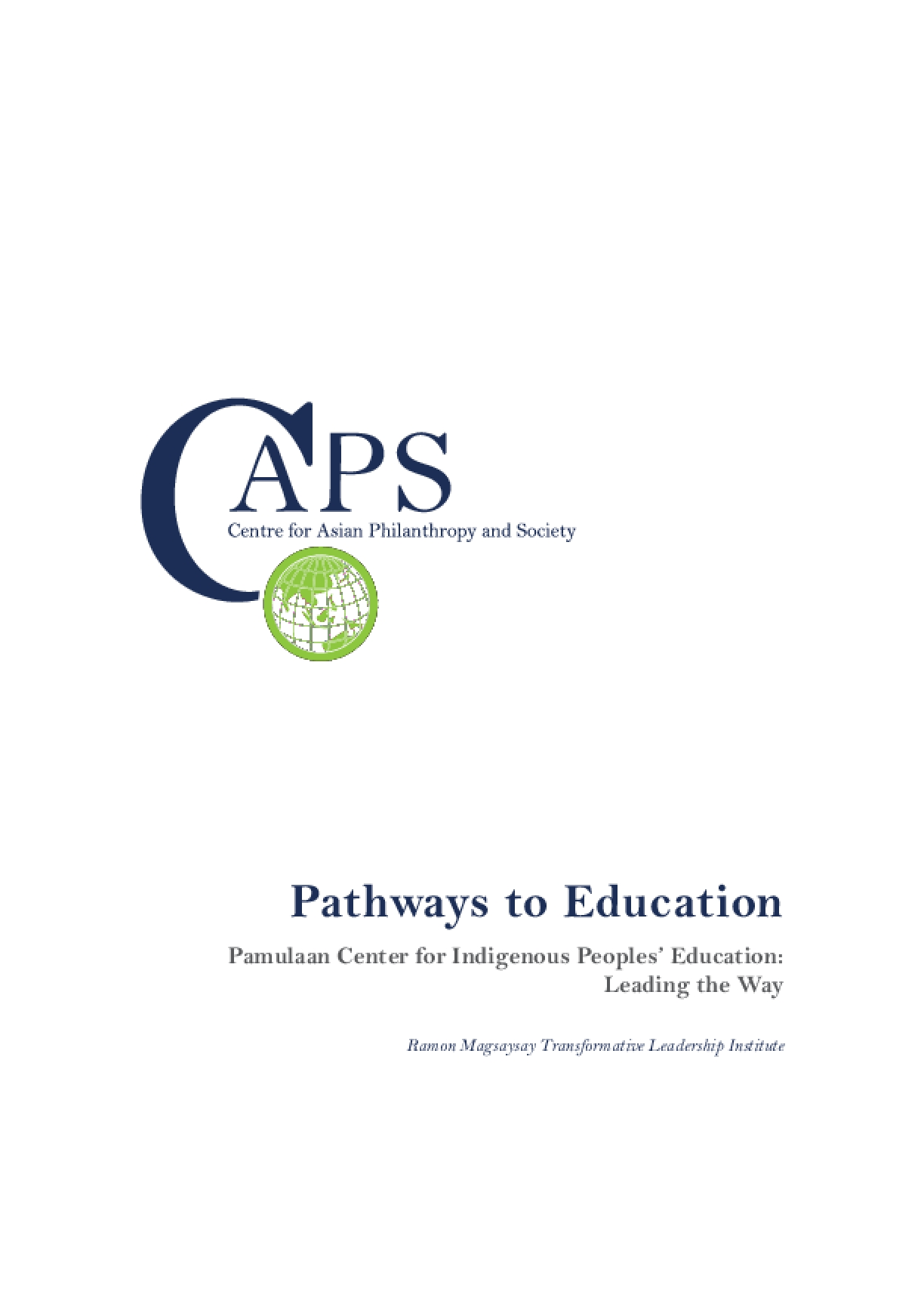 Pathways to Education