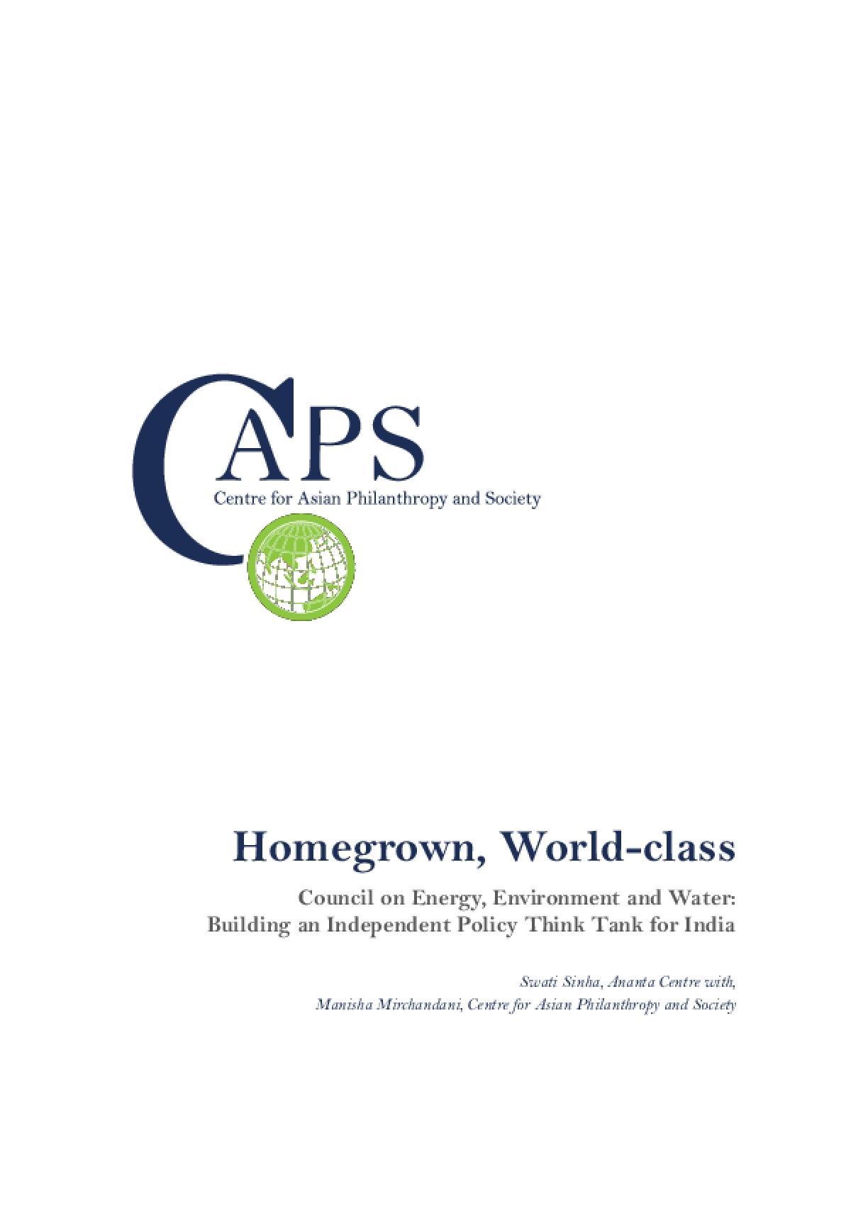 Homegrown, World-Class