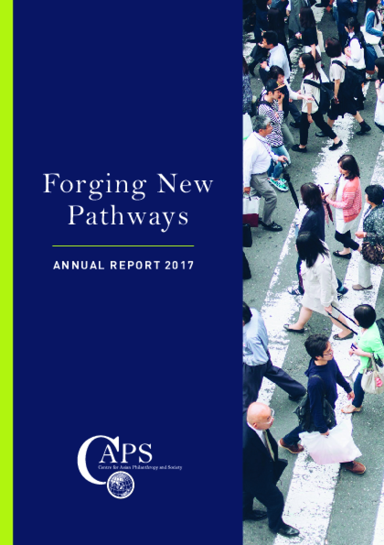 Forging New Pathways: Annual Report 2017