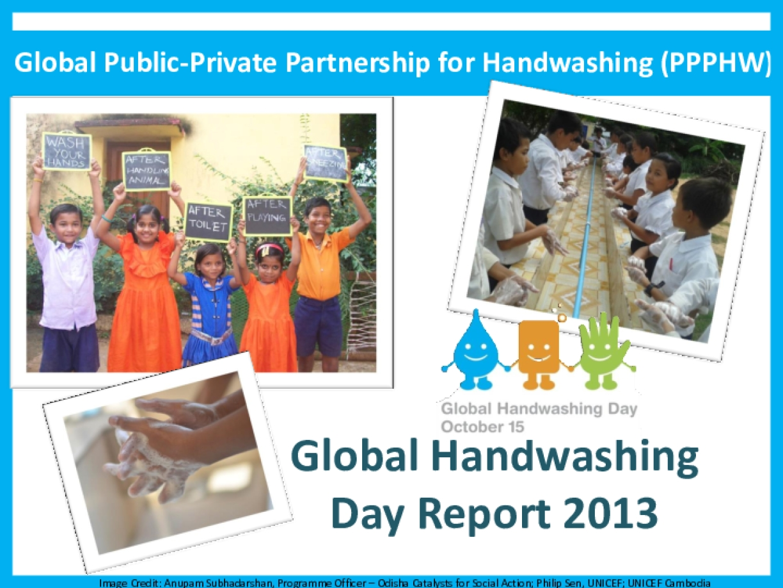 Global Handwashing Day 2013 Report