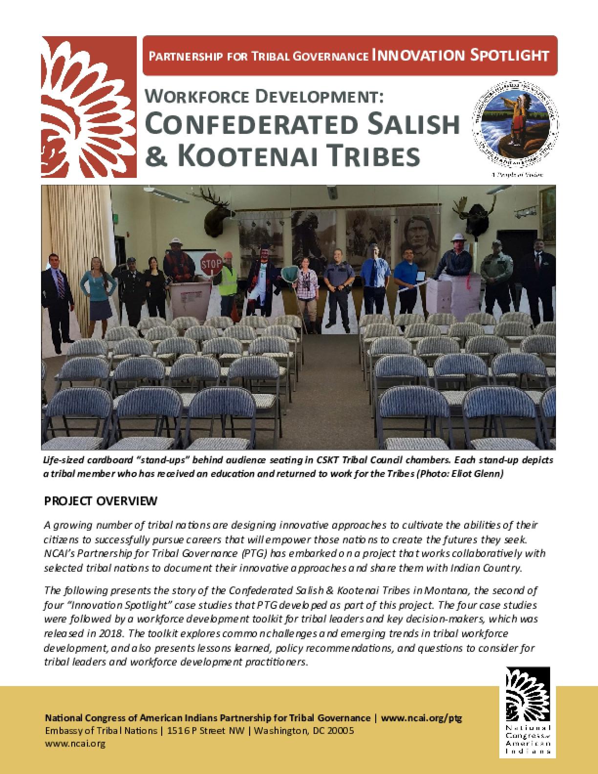Workforce Development: Confederated Salish & Kootenai Tribes