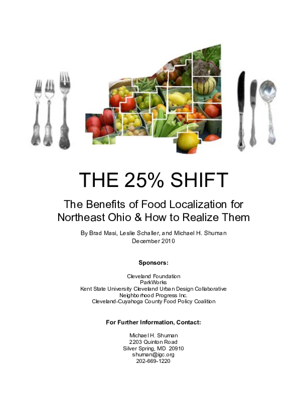 The 25% Shift: The Benefits of Food Localization for Northeast Ohio and How to Realize Them