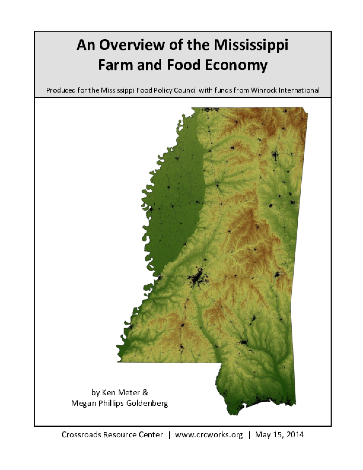 An Overview of the Mississippi Farm and Food Economy