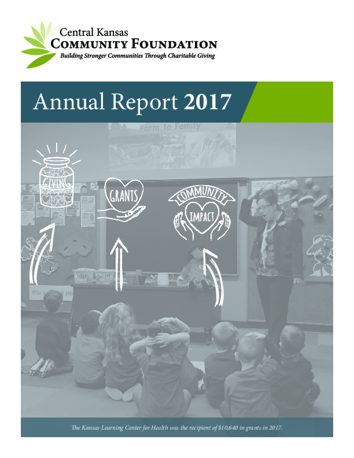 Central Kansas Community Foundation Annual Report 2017
