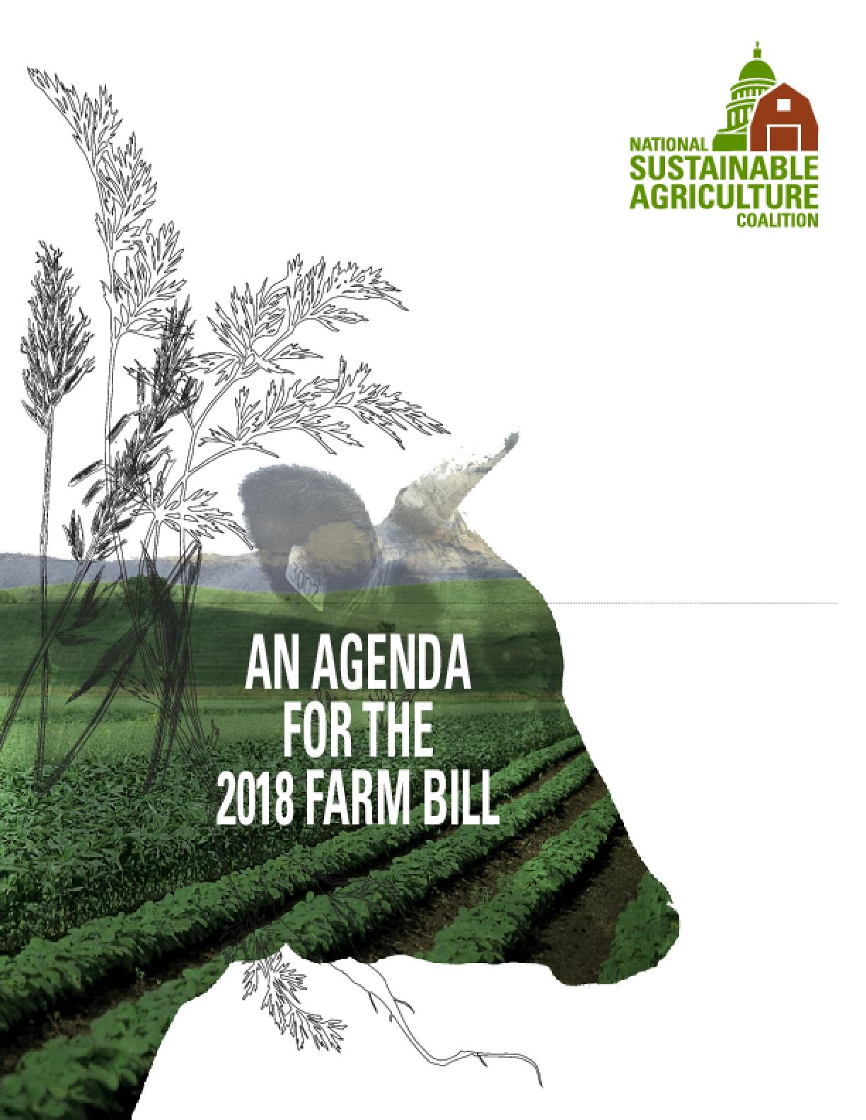 An Agenda for the 2018 Farm Bill