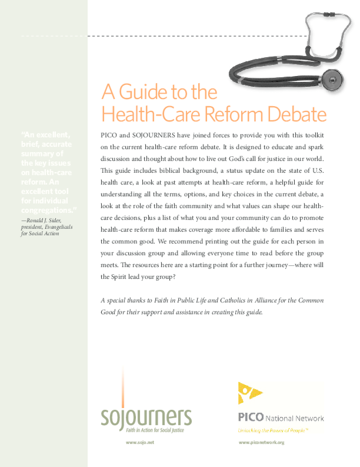 Health Care Toolkit