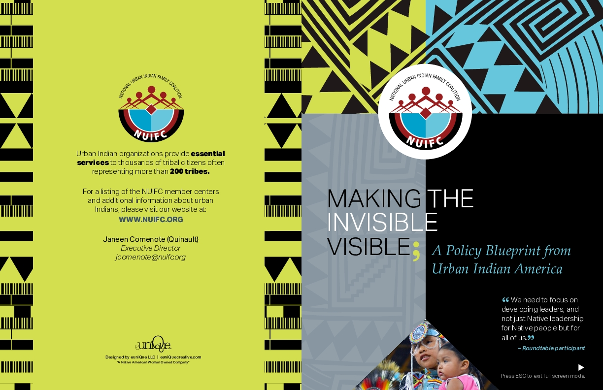 Making the Invisible Visible: A Policy Blueprint for Urban Indian America