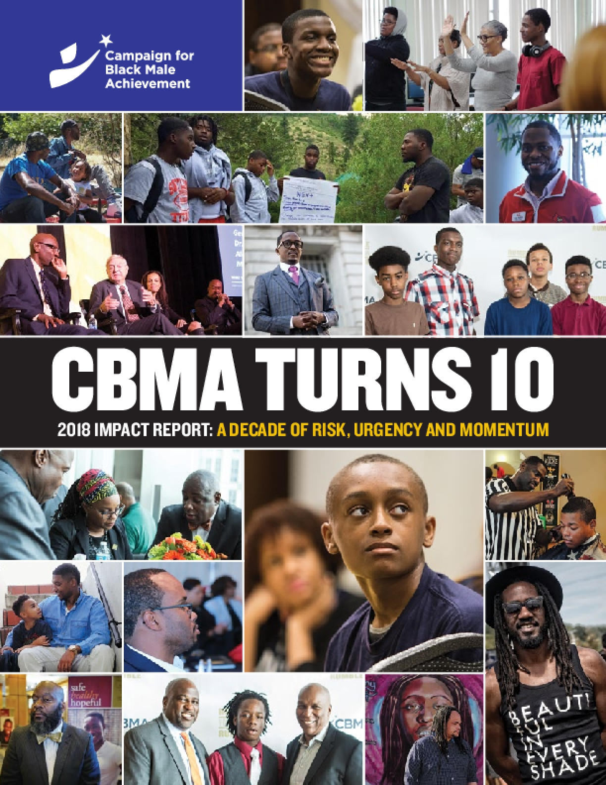 CBMA Turns 10, 2018 Impact Report: A Decade of Risk, Urgency, and Momentum