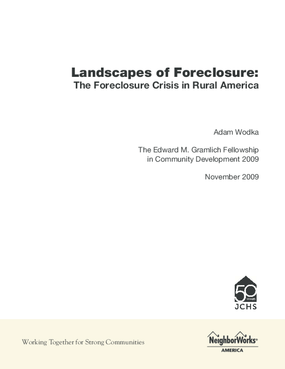 Landscapes of Foreclosure: The Foreclosure Crisis in Rural America