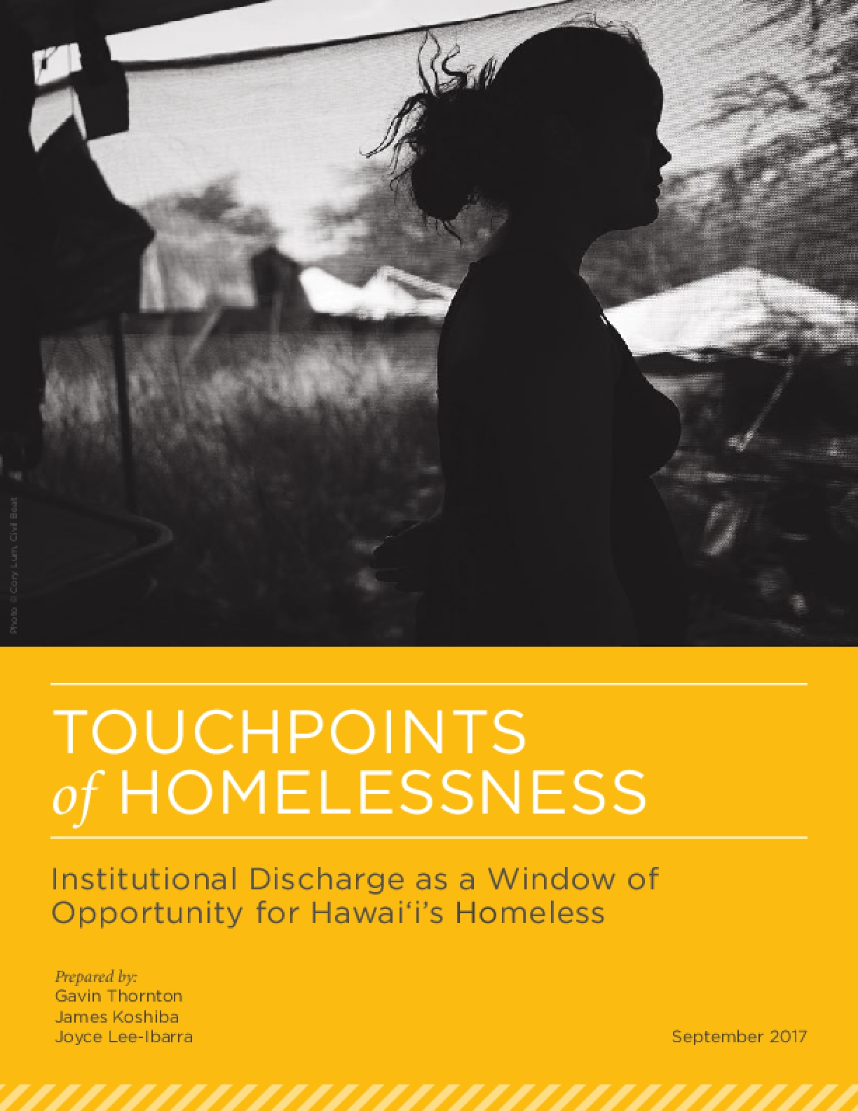 Touchpoints of Homelessness: Institutional Discharge as a Window of Opportunity for Hawaiʻi's Homeless