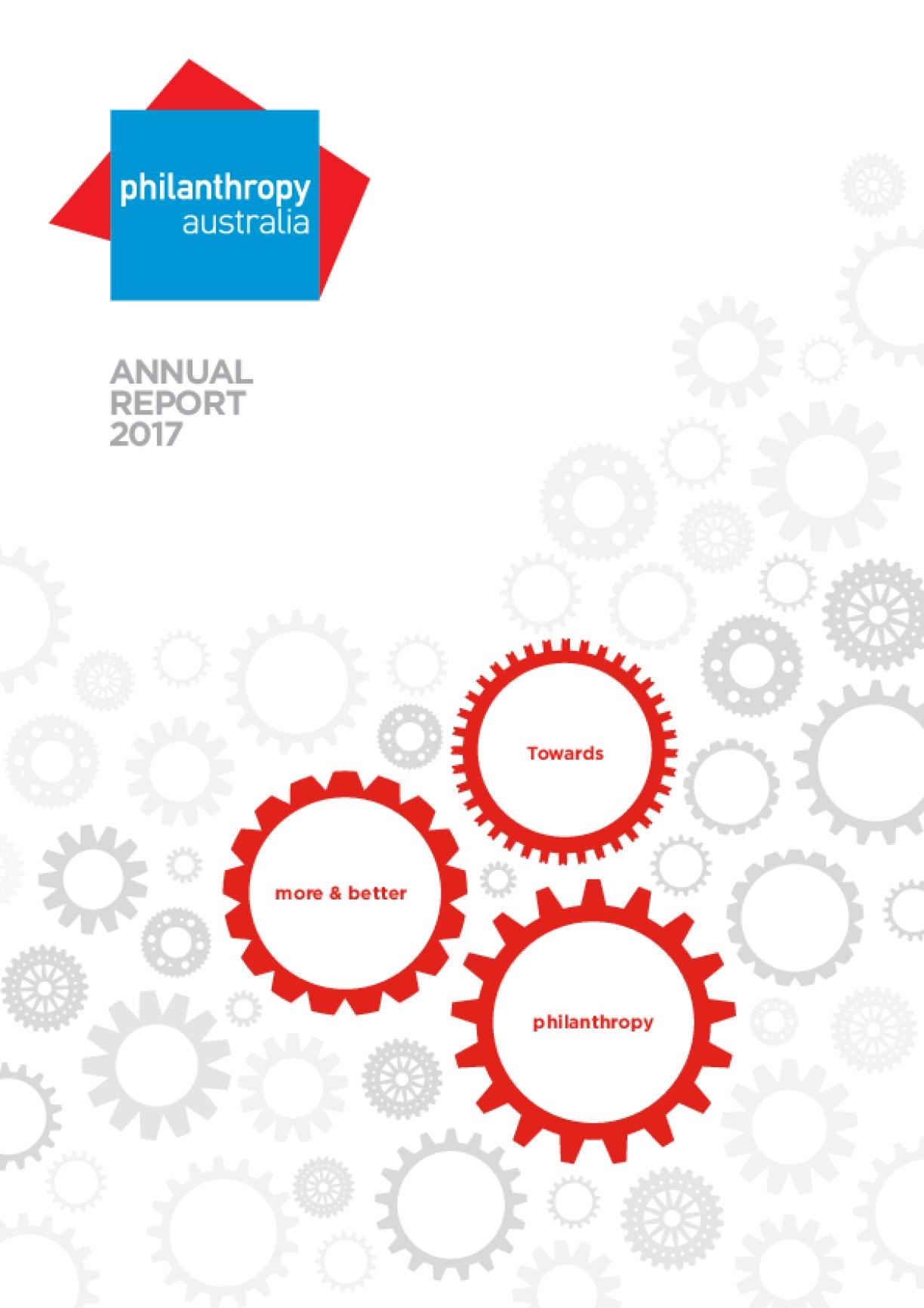 Philanthropy Australia Annual Report 2017
