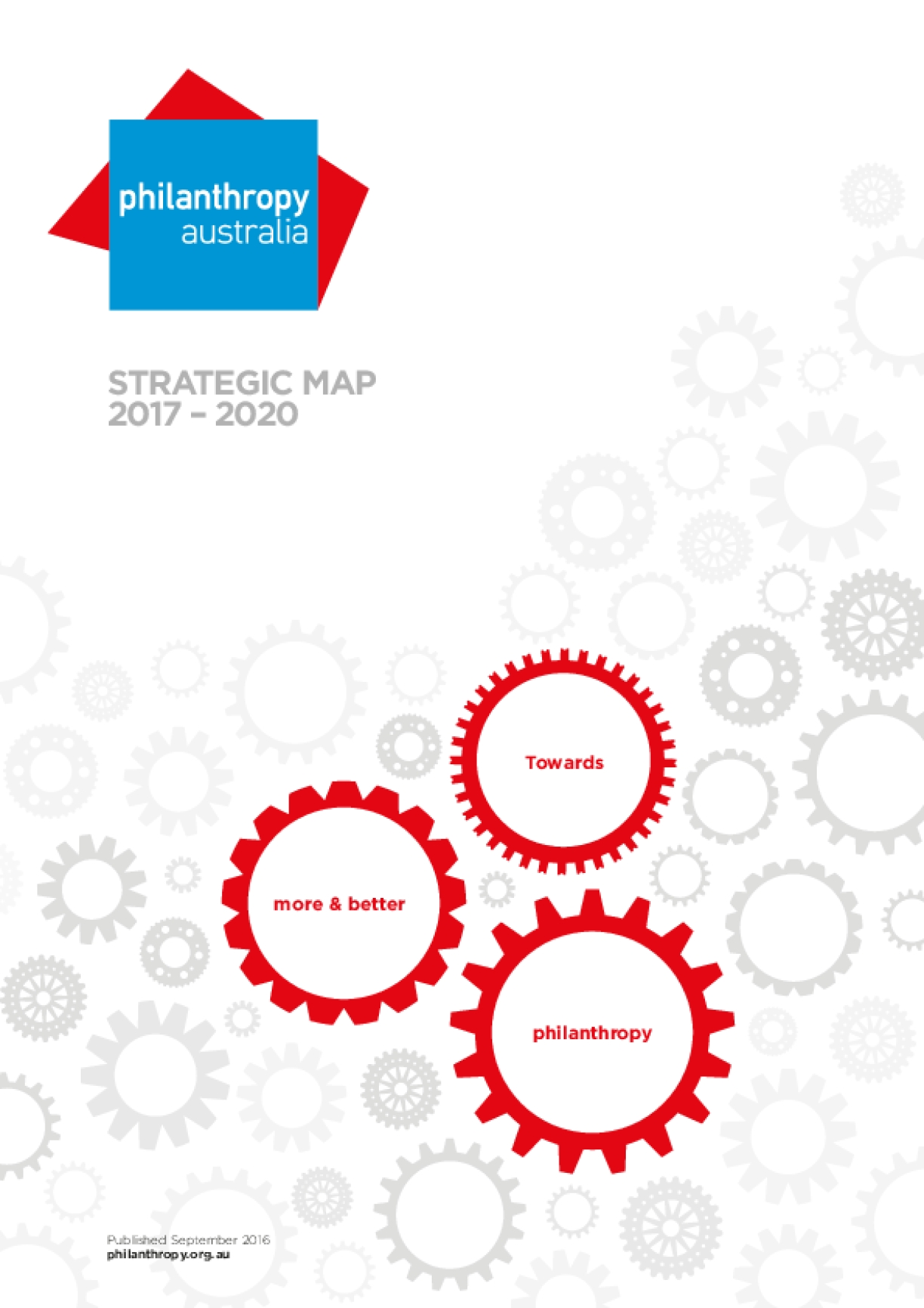 Philanthropy Australia Strategic Map 2017-2020