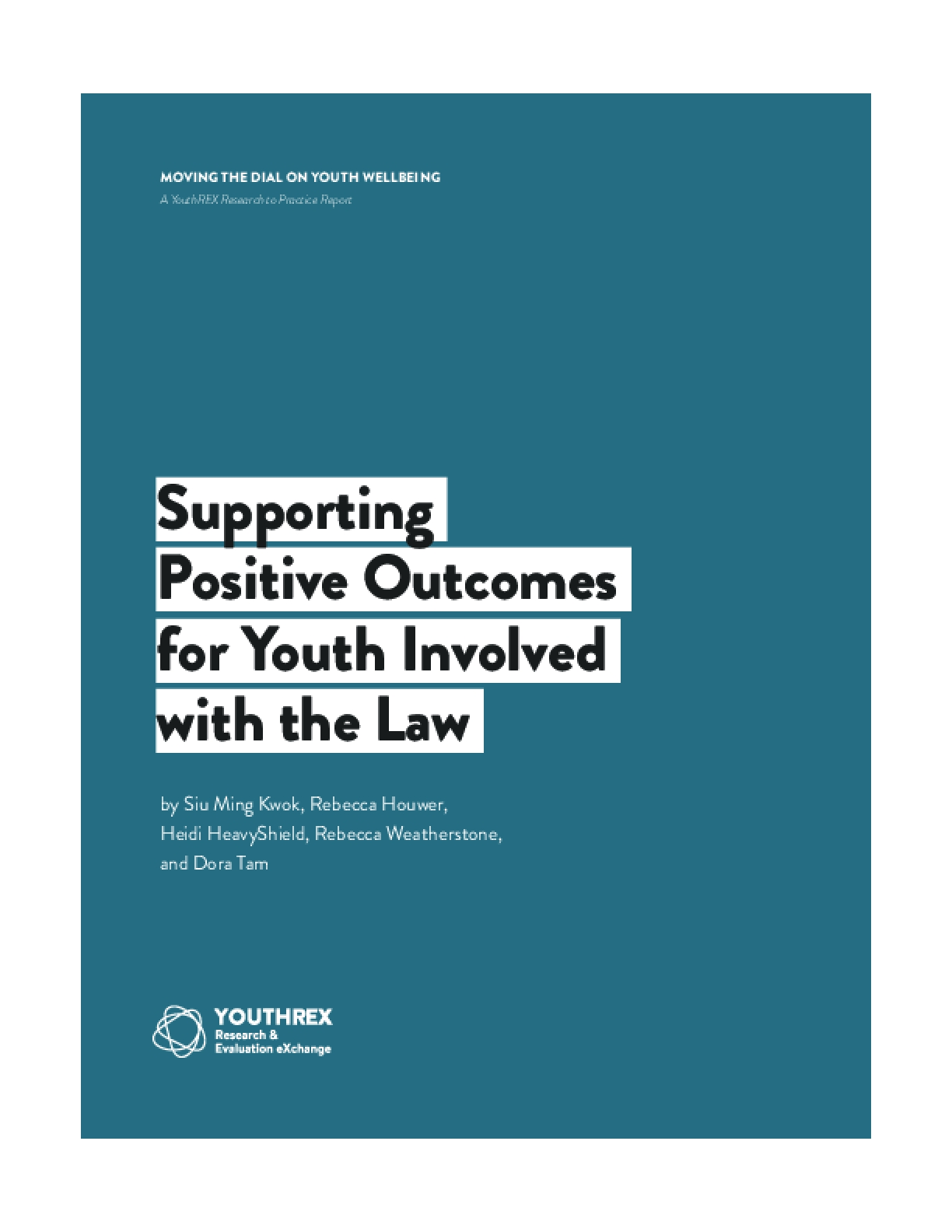 Supporting Positive Outcomes For Youth Involved With The Law