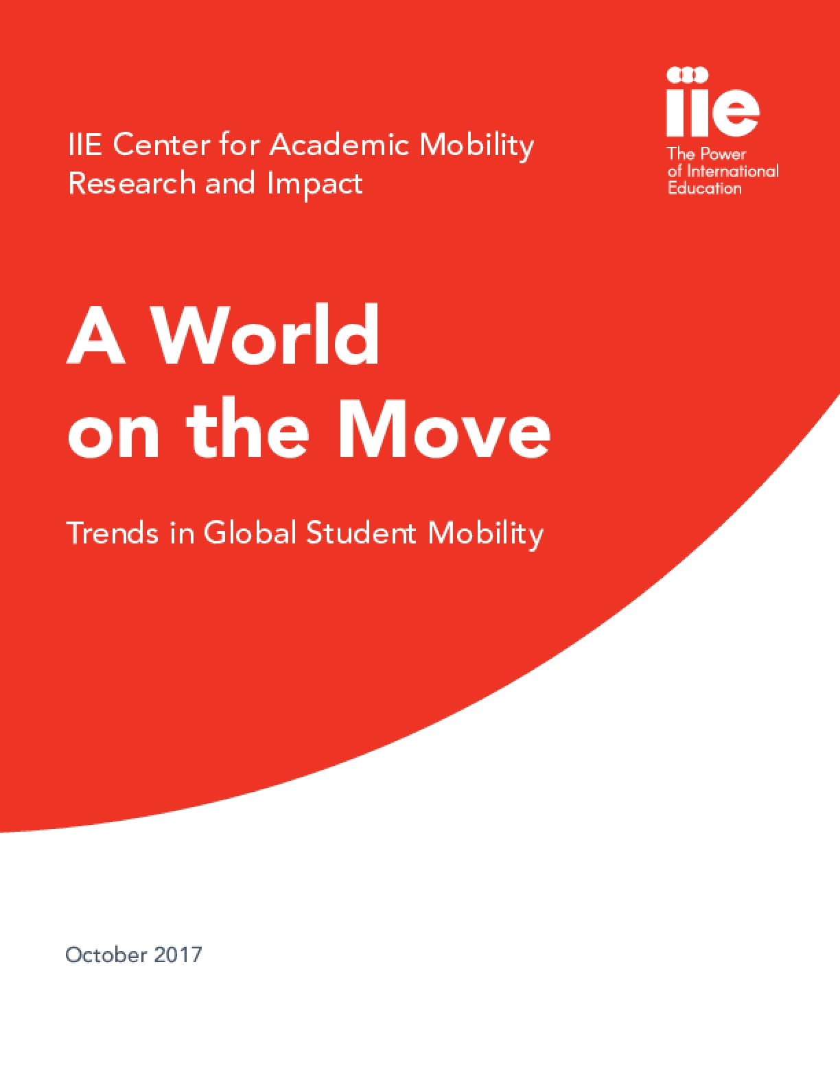 A World on the Move: Trends in Global Student Mobility - Issue 1