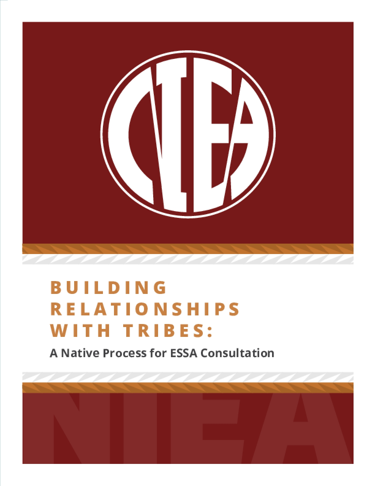 Building Relationship with Tribes: A Native Process for ESSA Consultation