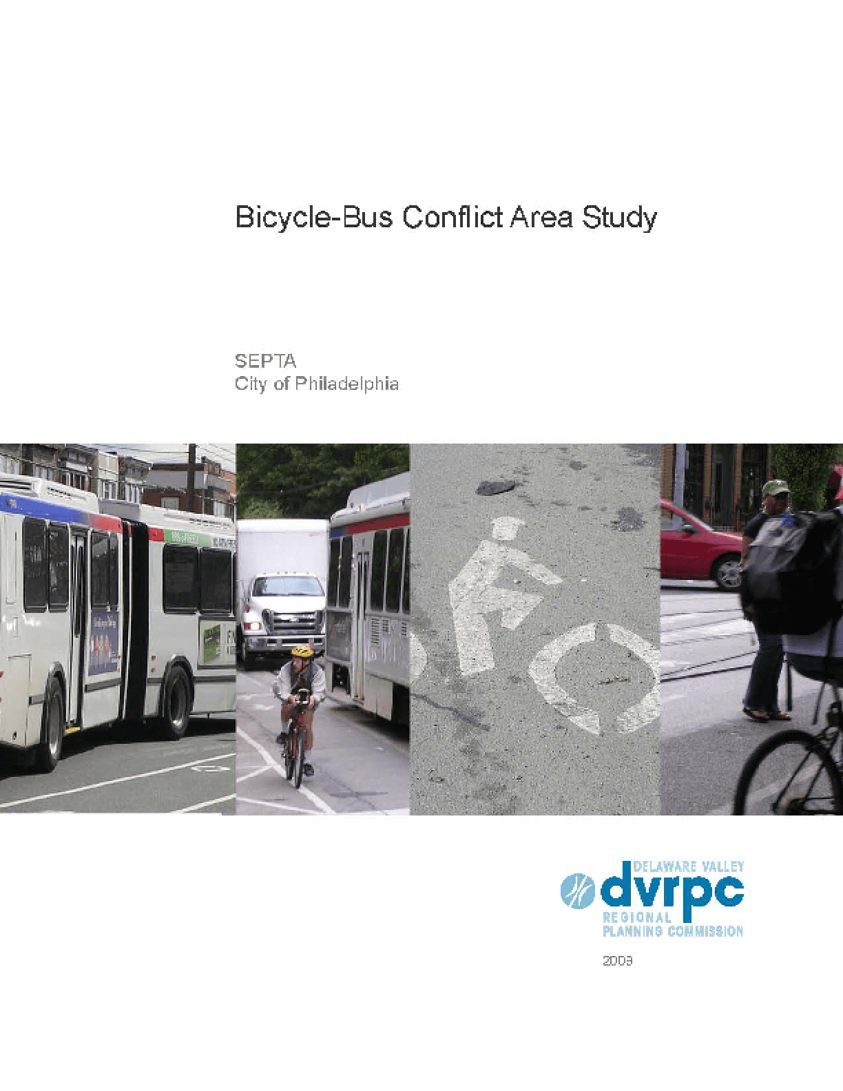 Bicycle-Bus Conflict Area Study