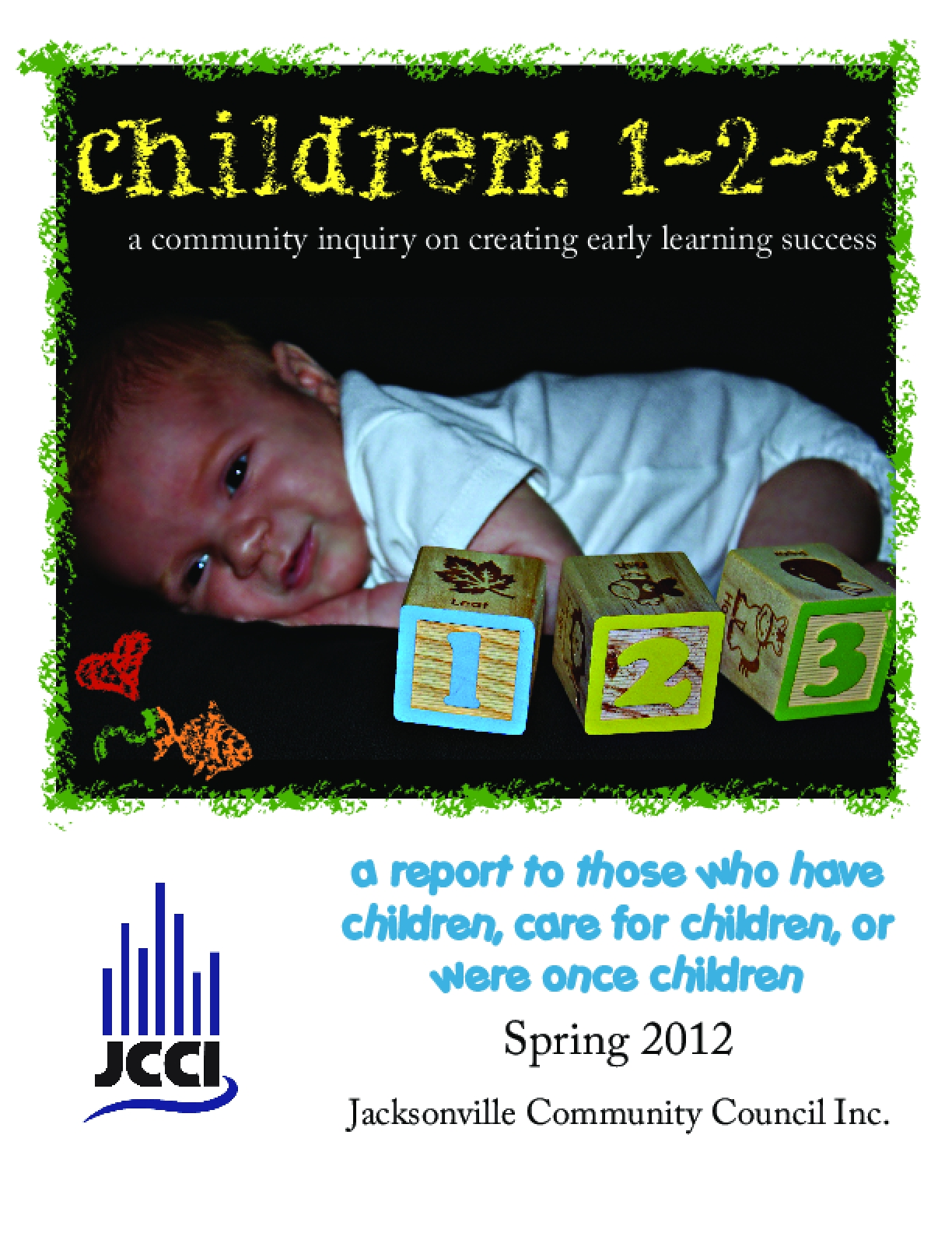 Children: 1-2-3 A Community Inquiry on Creating Early Learning Success