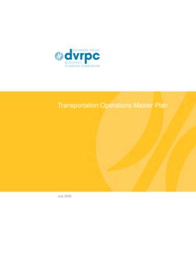 Transportation Operations Master Plan