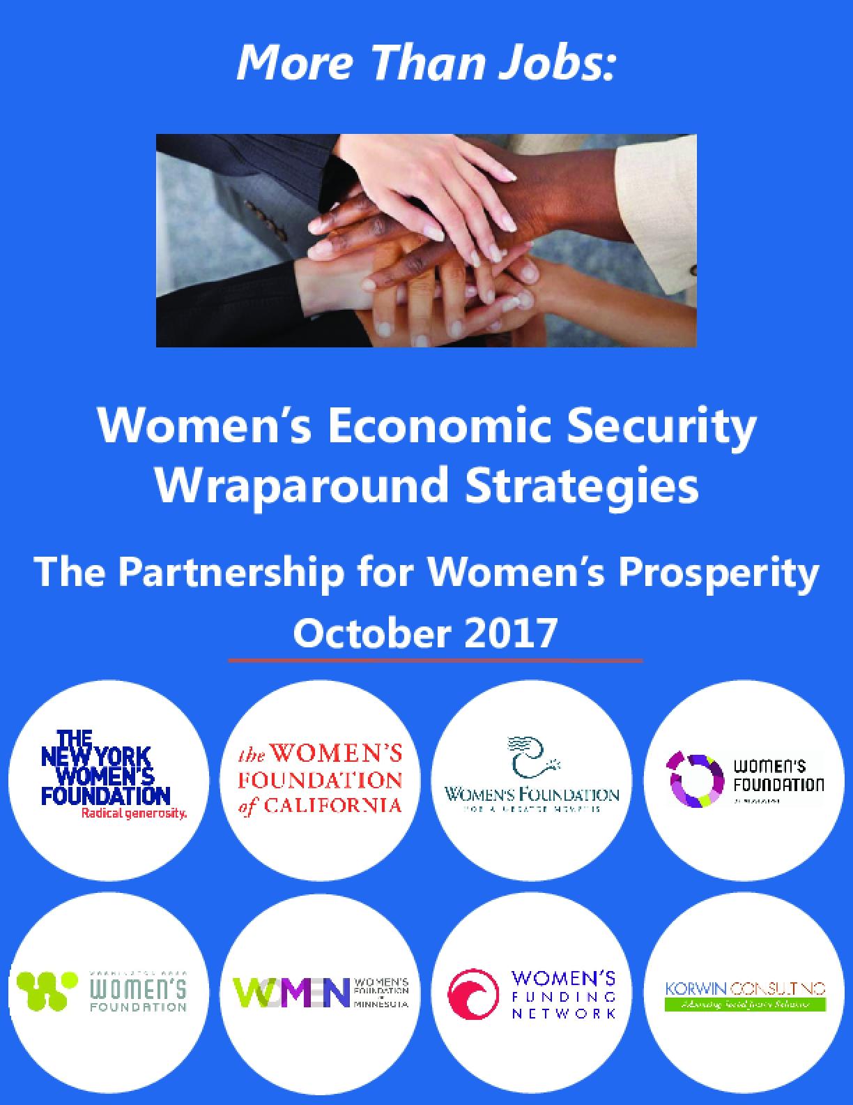 More Than Jobs: Women's Economic Security Wraparound Strategies
