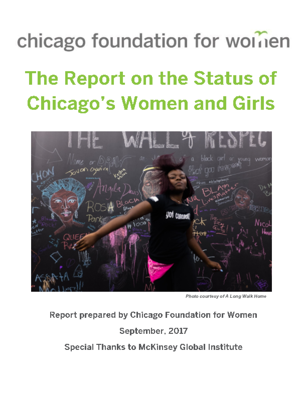 The Report on the Status of Chicago's Women and Girls