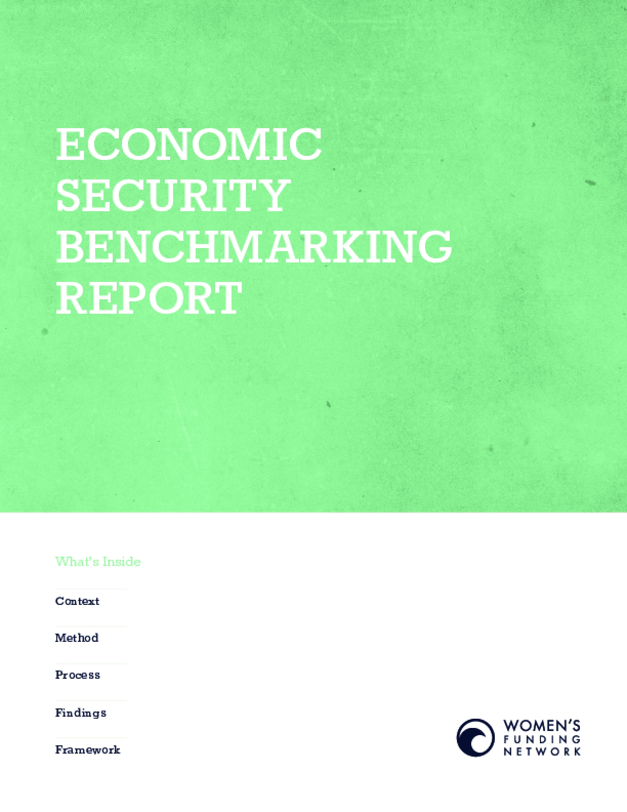 Economic Security Benchmarking Report