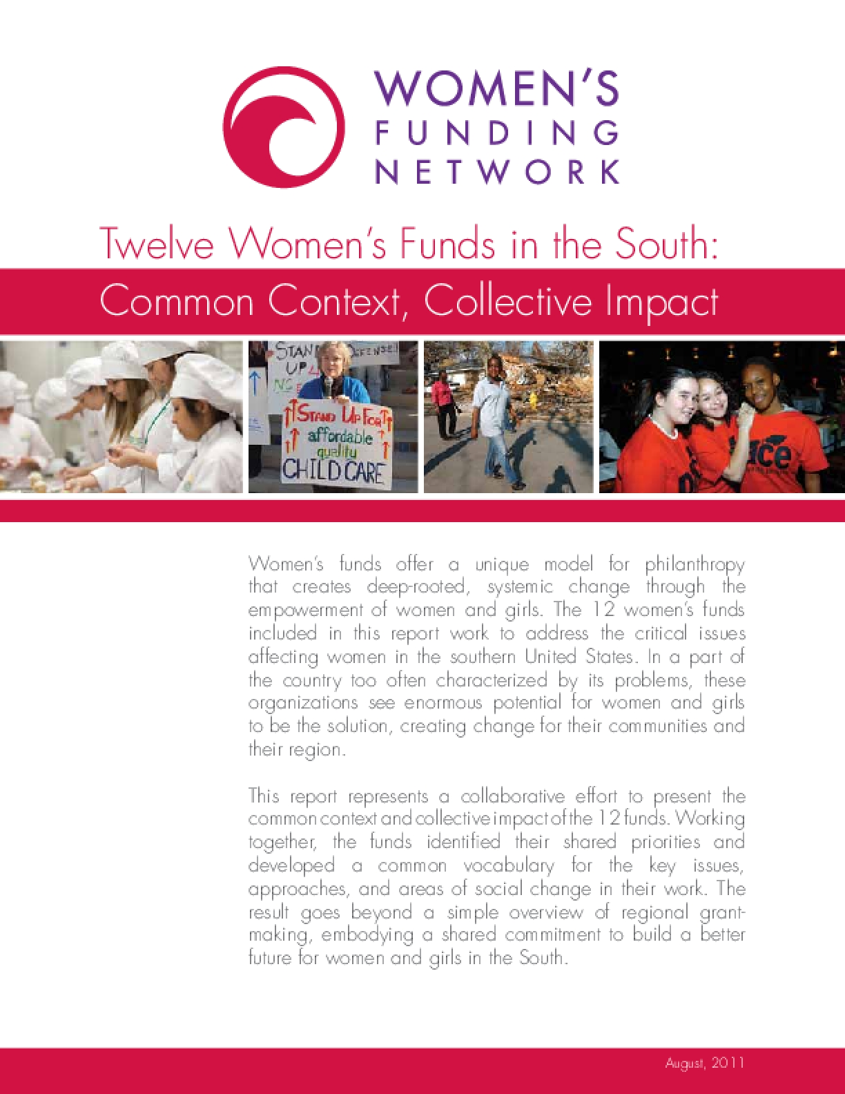 Twelve Women's Funds in the South: Common Context, Collective Impact