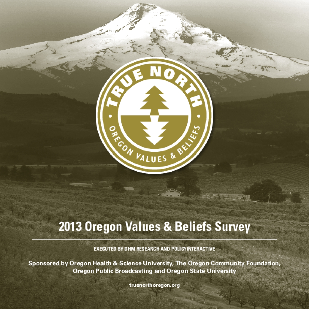 2013 Oregon Values & Beliefs Survey