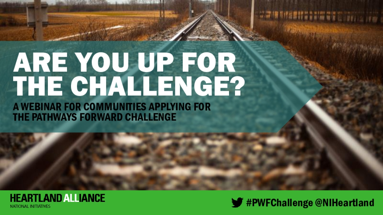 Pathway Forward Challenge Informational Webinar