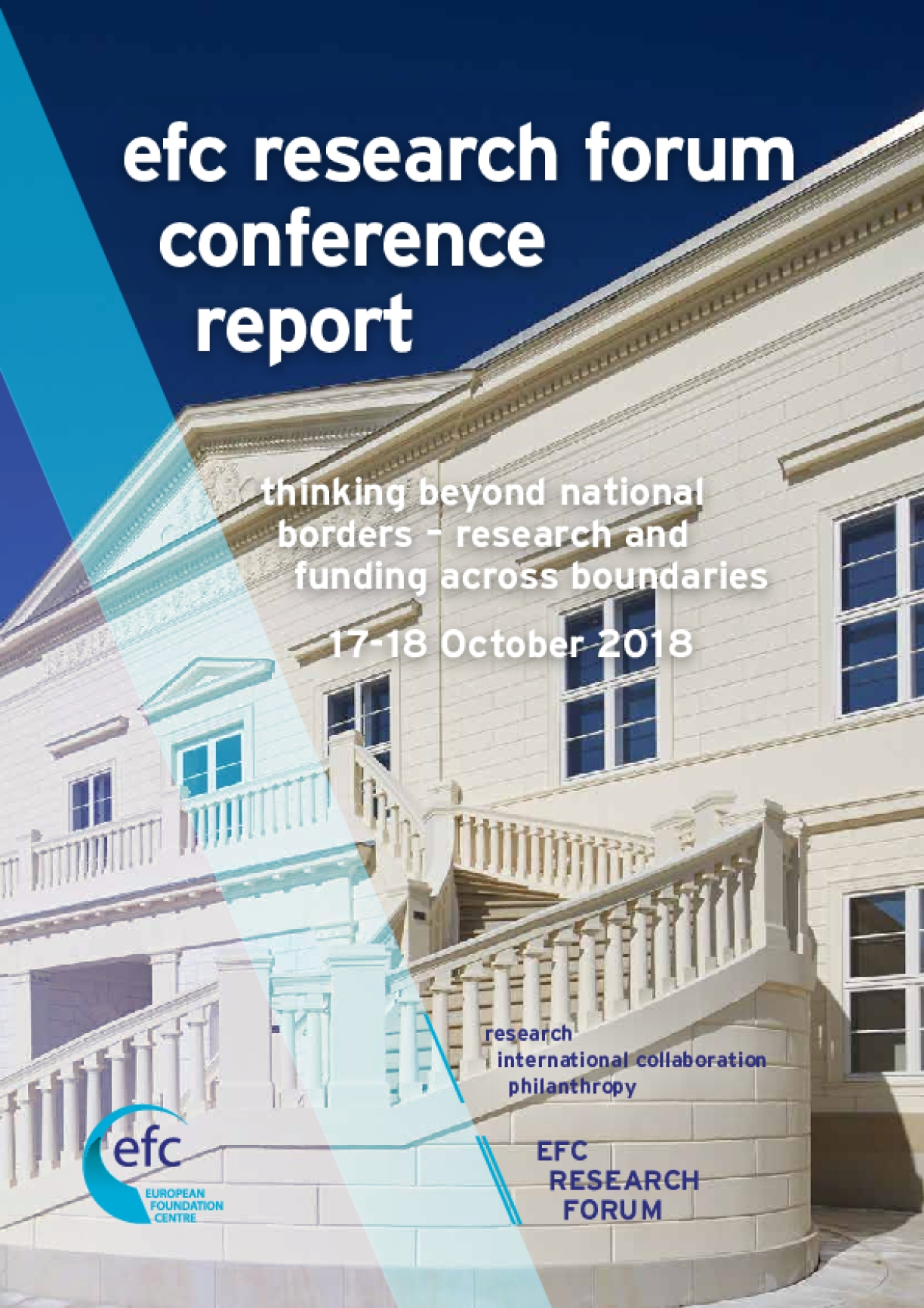 EFC Research Forum Conference Report : Thinking Beyond National Borders - Research and Funding Across Boundaries