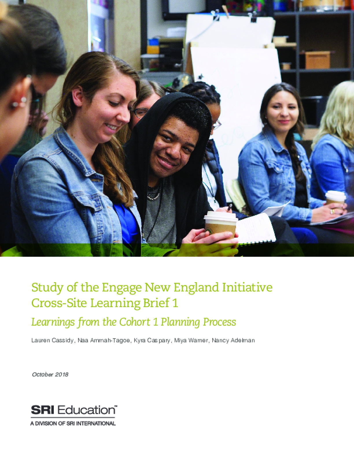 Study of the Engage New England initiative, cross-site learning brief 1: Learnings from the cohort 1 planning process.