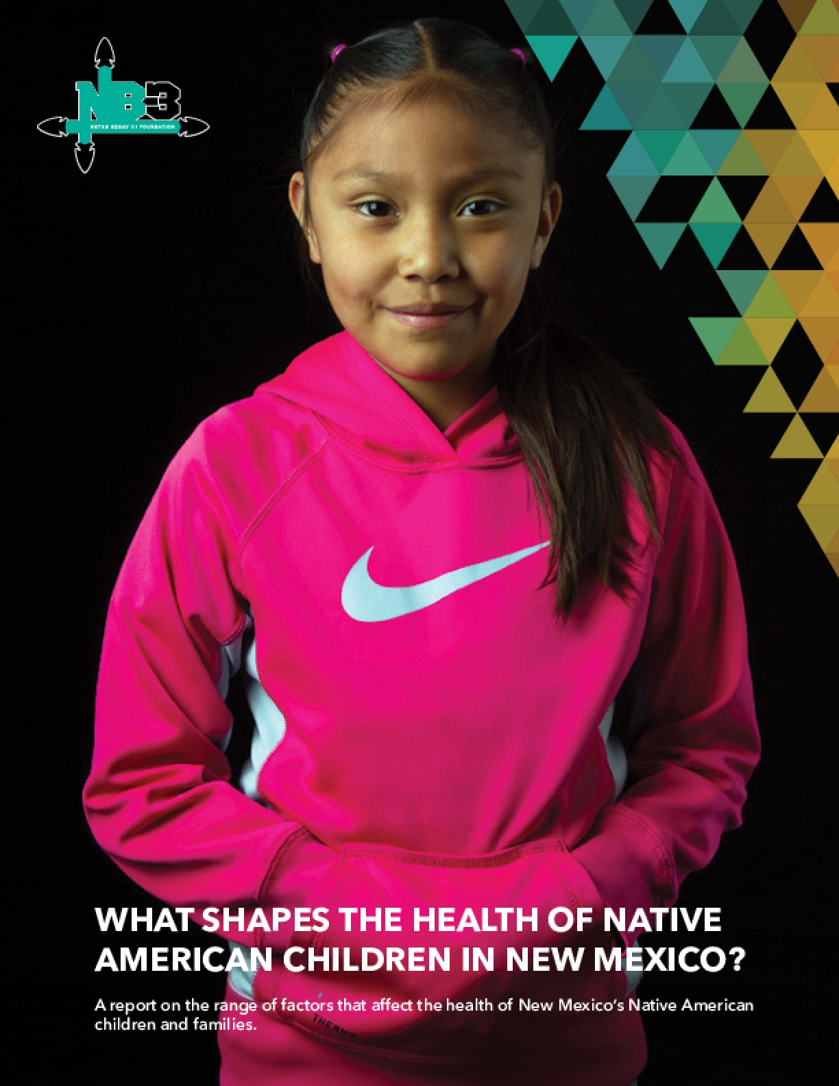 WHAT SHAPES THE HEALTH OF NATIVE AMERICAN CHILDREN IN NEW MEXICO? A report on the range of factors that affect the health of New Mexico's Native American children and families.