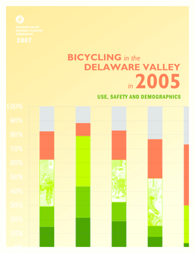 Bicycling in the Delaware Valley in 2005: Use, Safety, and Demographics