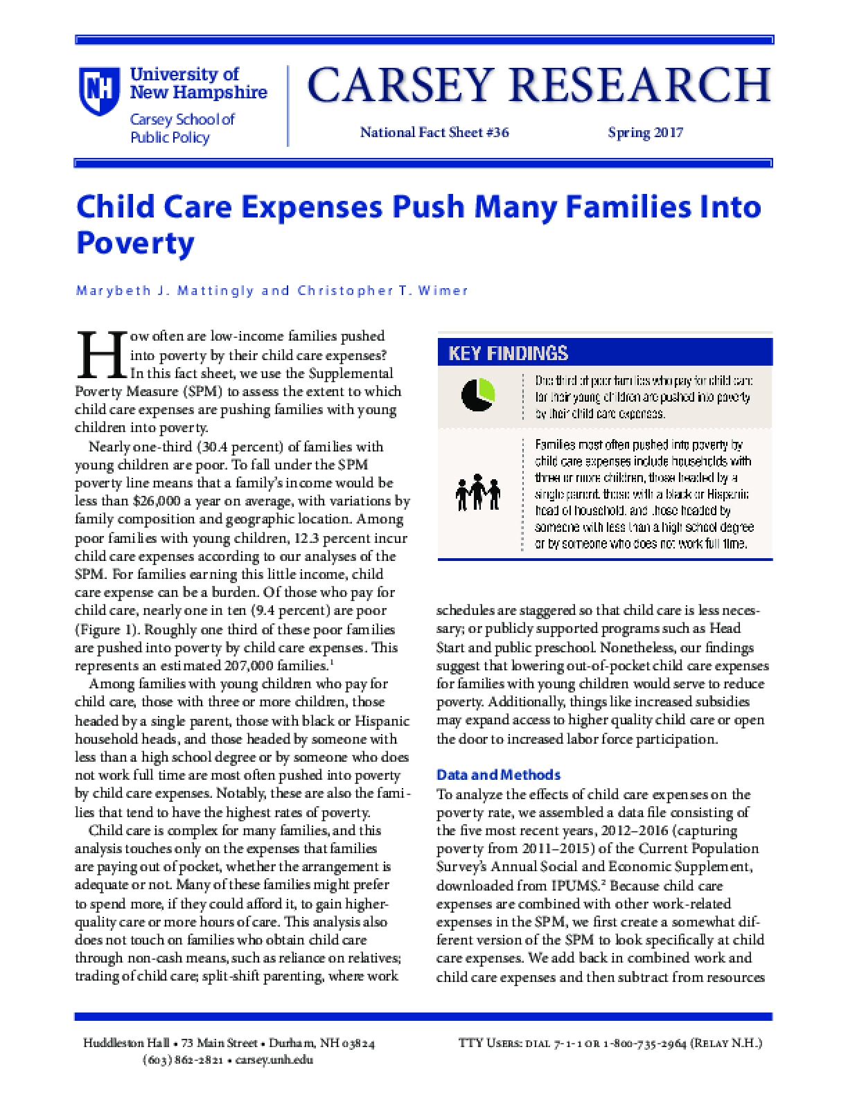Child Care Expenses Push Many Families Into Poverty