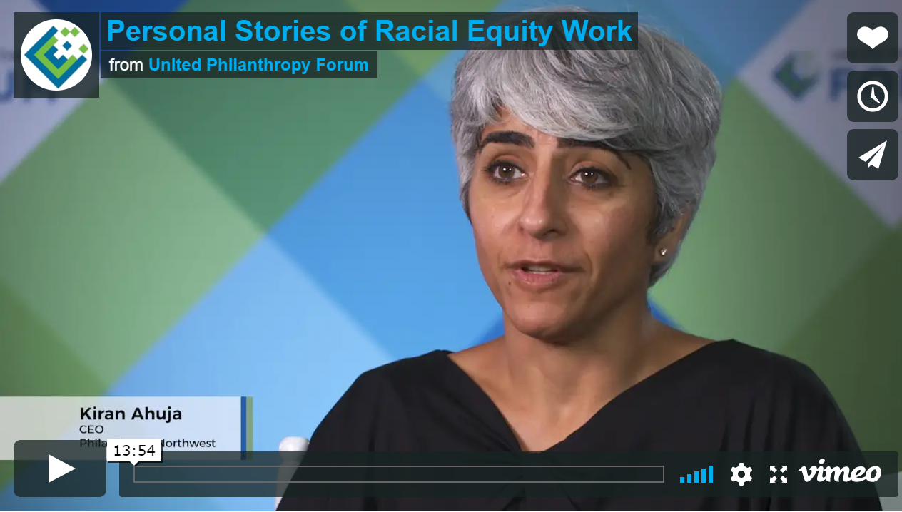 Personal Stories of Racial Equity Work
