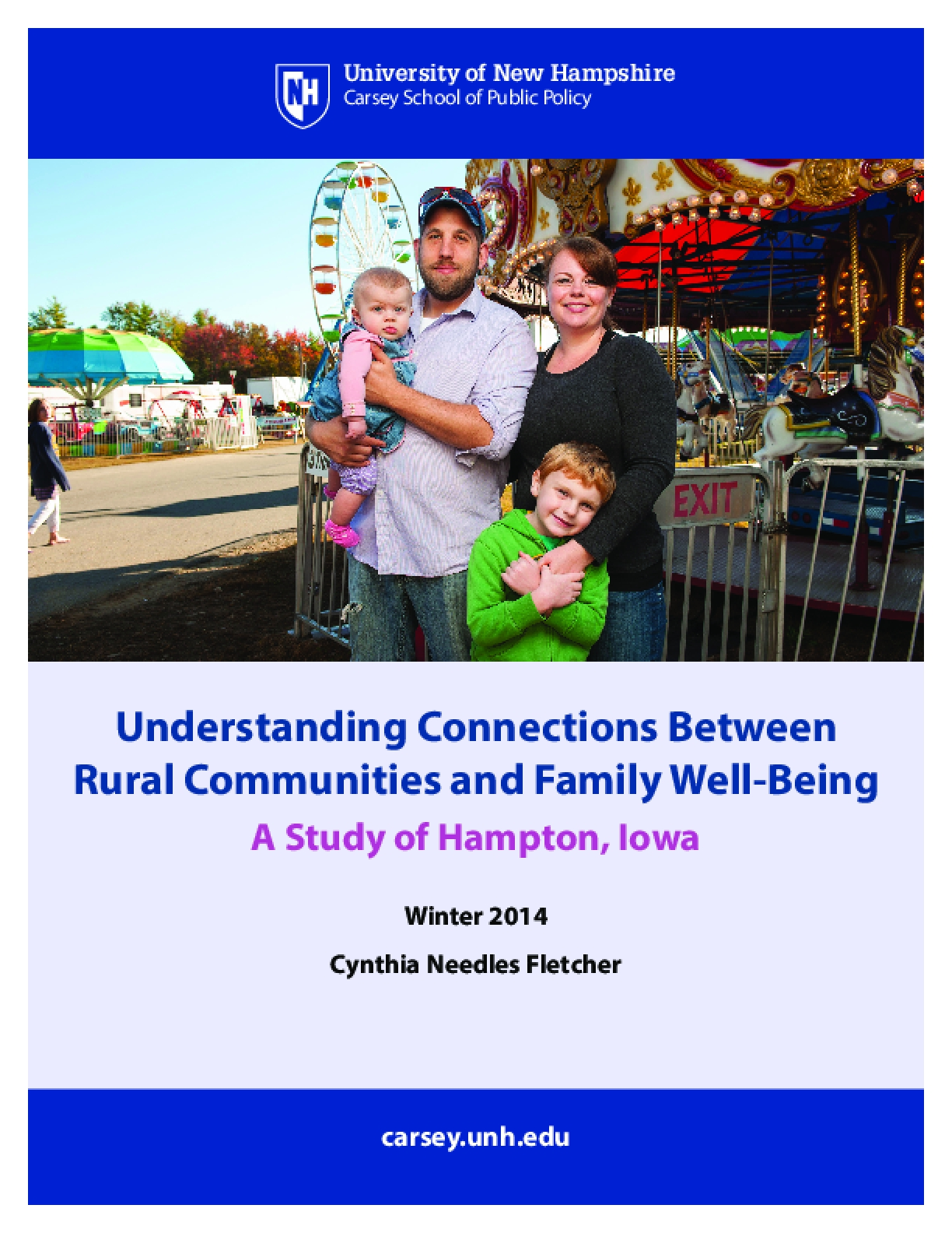 Understanding Connections Between Rural Communities and Family Well-Being
