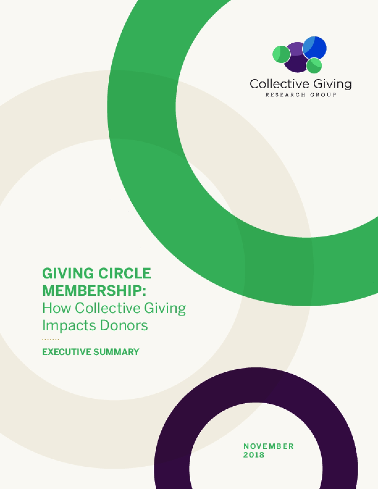 Giving Circle Membership: How Collective Giving Impacts Donors