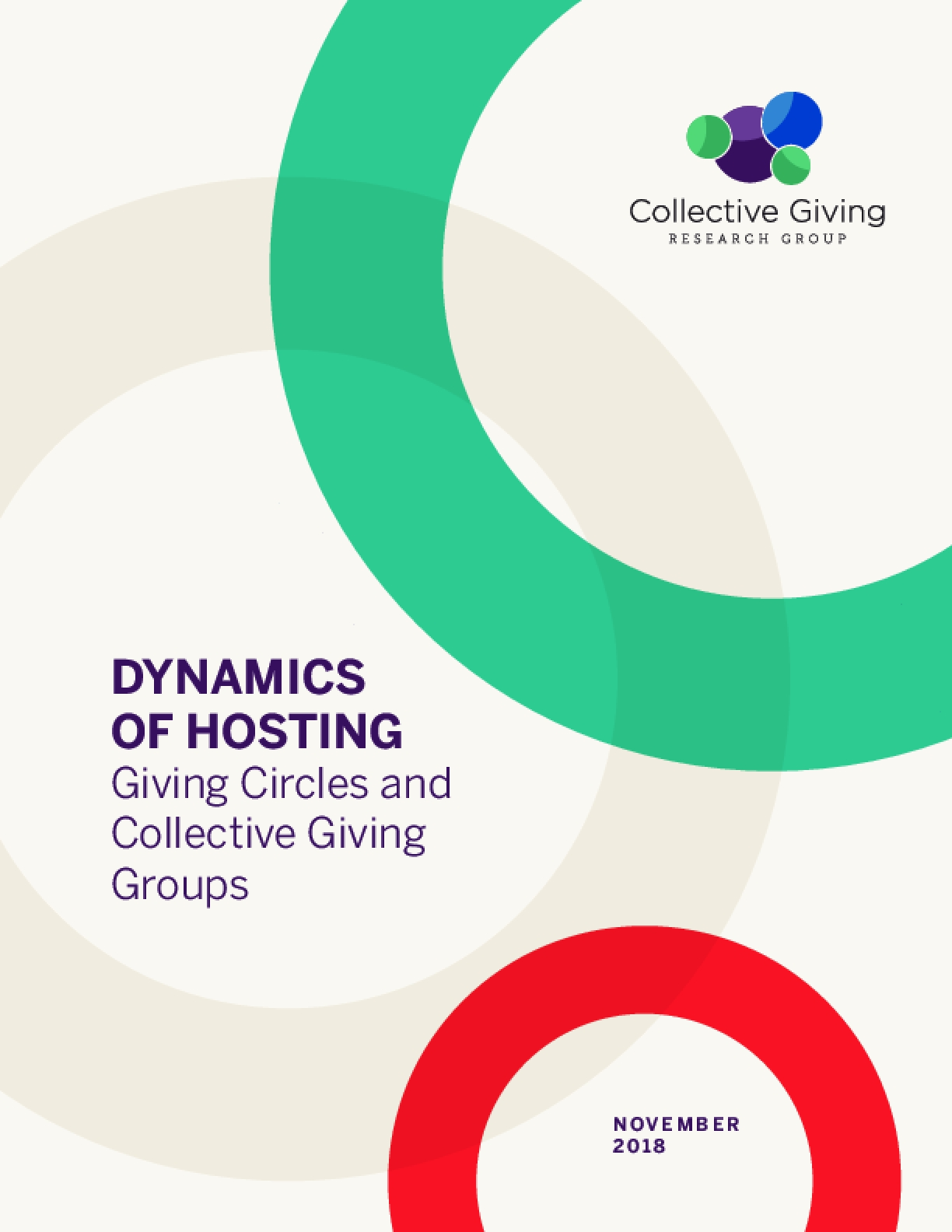 Dynamics of Hosting Giving Circles and Collective Giving Groups