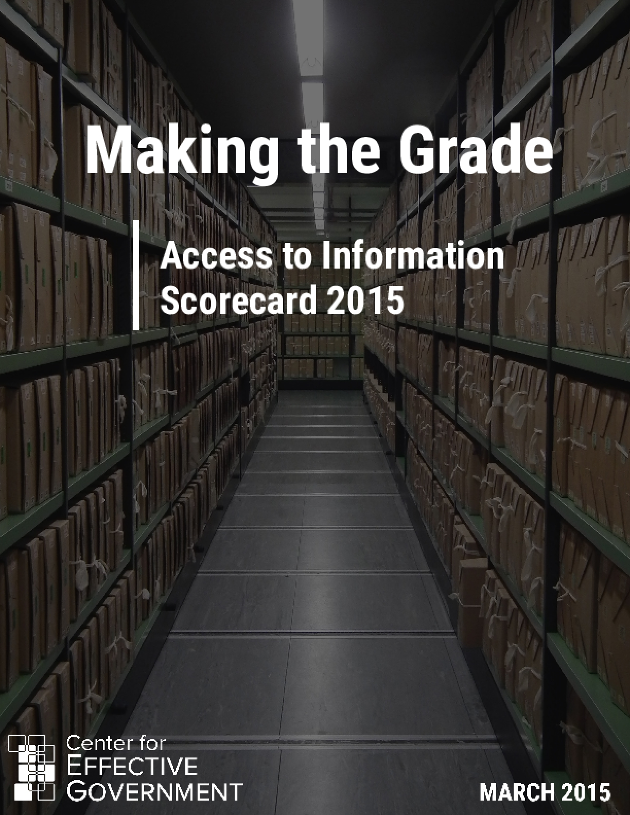 Making the Grade: Access to Information Scorecard 2015