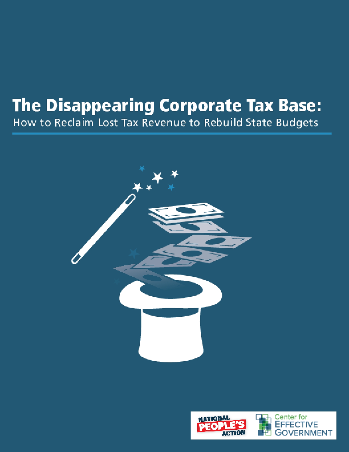 The Disappearing Corporate Tax Base: How to Reclaim Lost Tax Revenue to Rebuild State Budgets