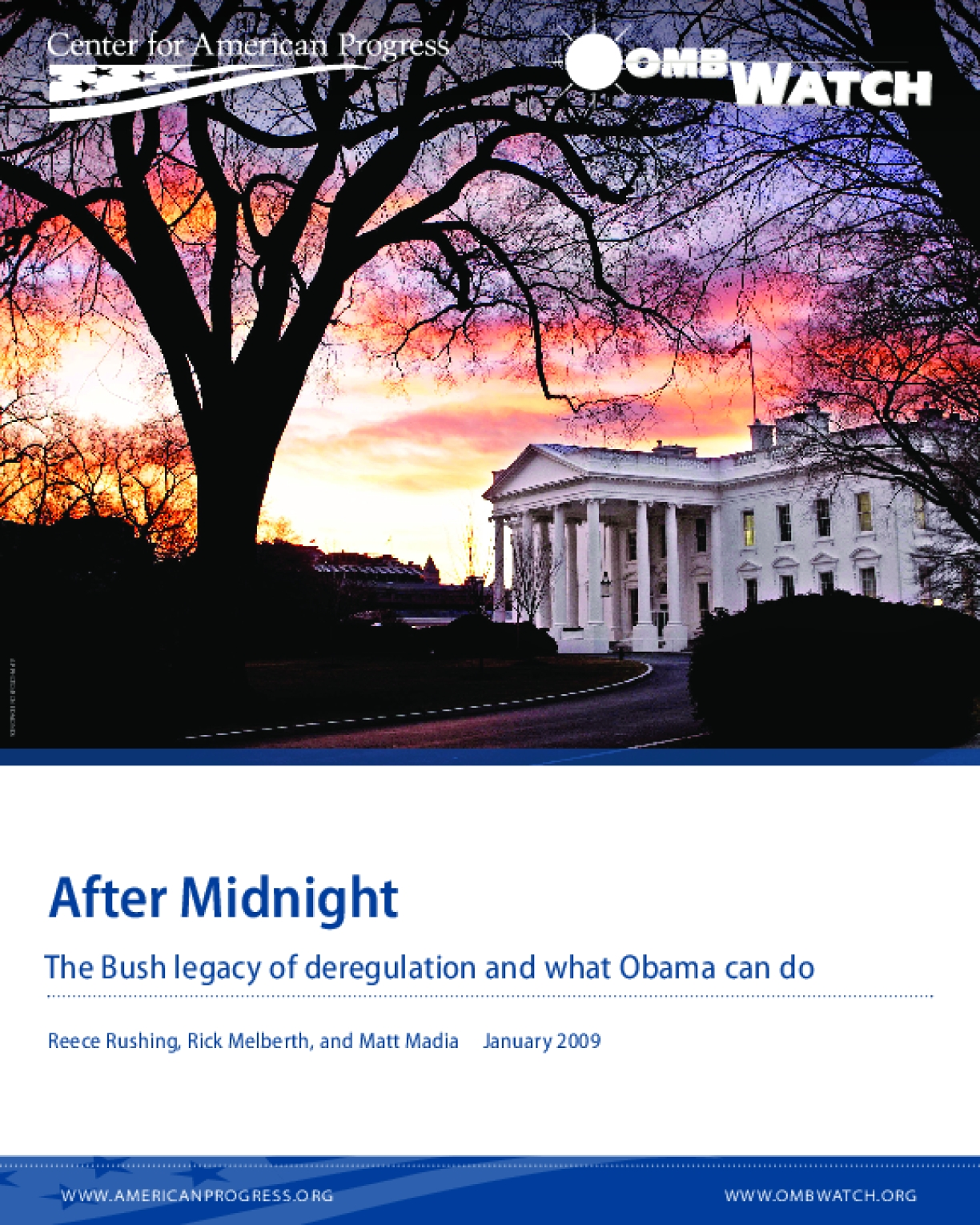 After Midnight The Bush Legacy of Deregulation and What Obama Can Do
