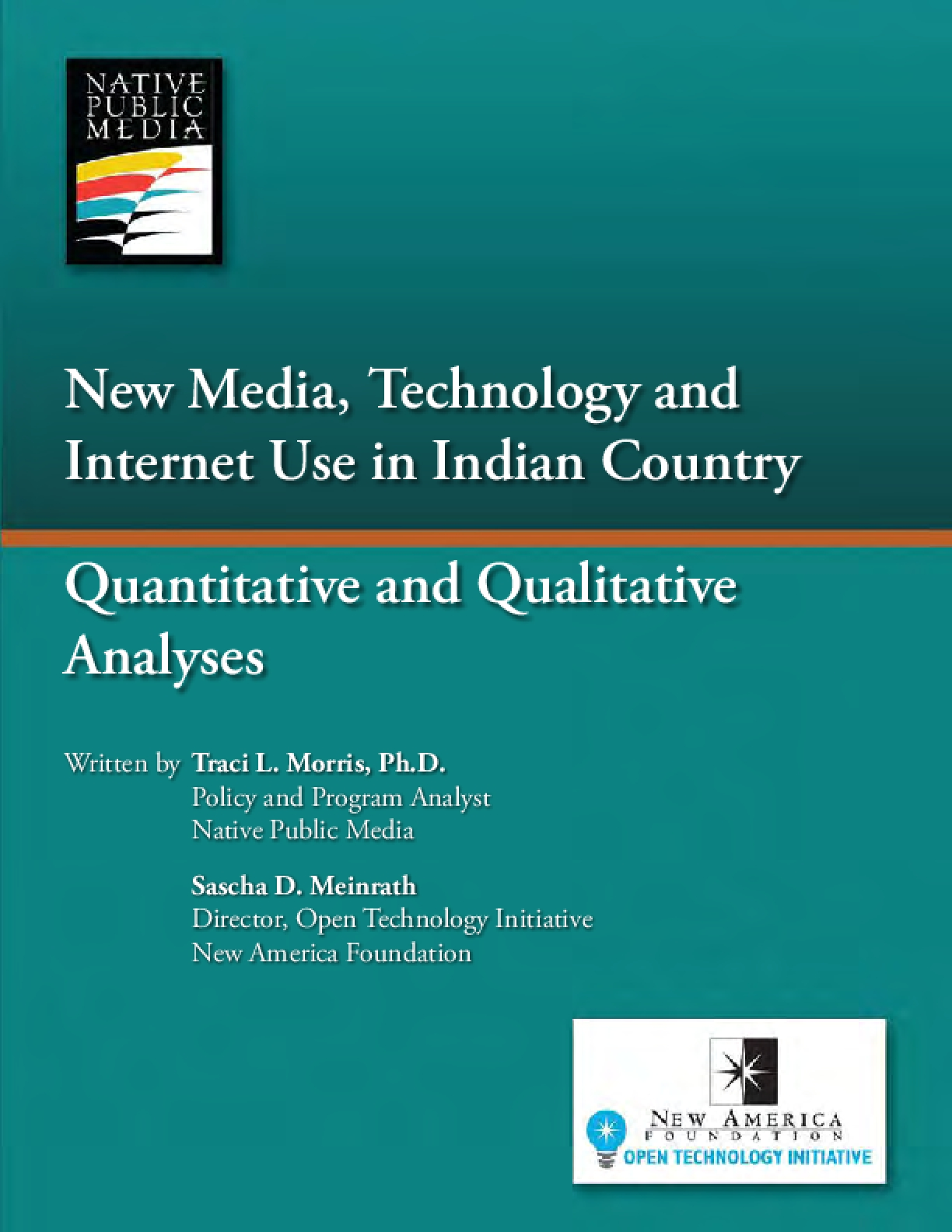 New Media, Technology and Internet Use in Indian Country