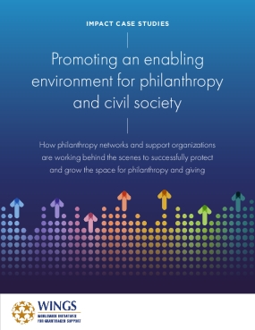 Impact Case Studies: Promoting an enabling environment for philanthropy  and civil society