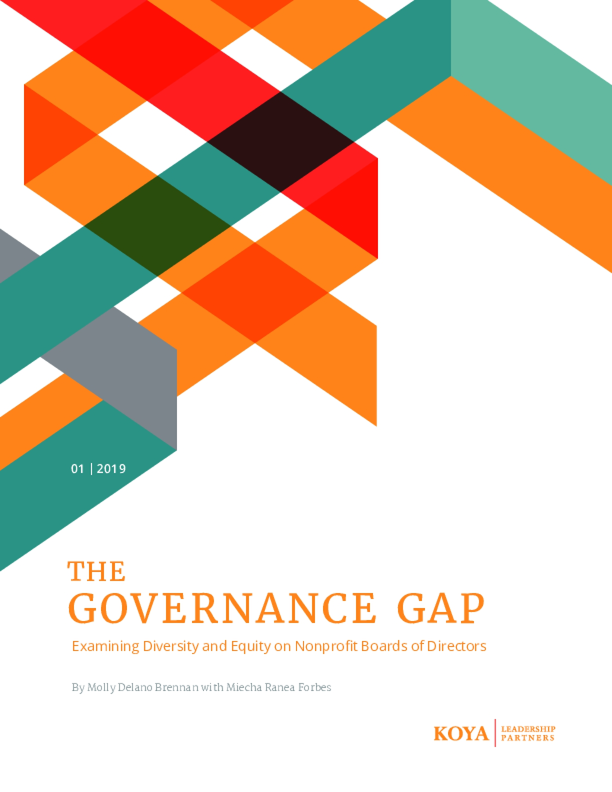 The Governance Gap : Examining Diversity and Equity on Nonprofit Boards of Directors