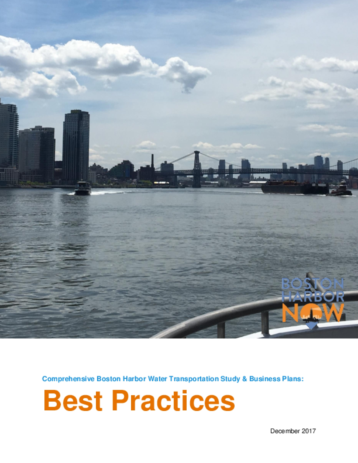 Comprehensive Boston Harbor Water Transportation Study & Business Plan: Best Practices