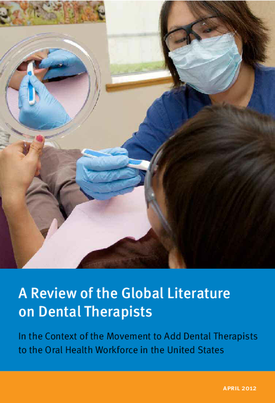 A Review of the Global Literature on Dental Therapists: In the Context of the Movement to Add Dental Therapists to the Oral Health Workforce in the United States  (Executive Summary)