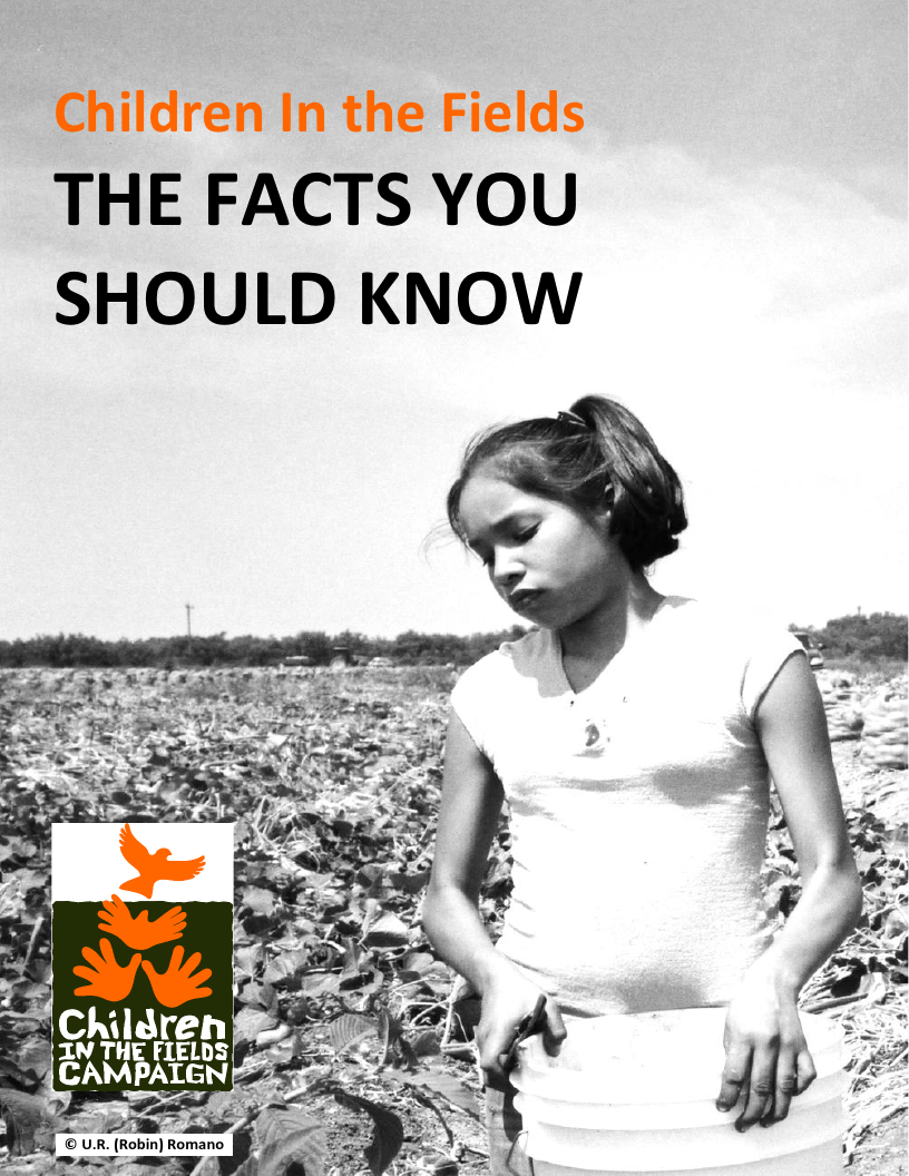 Children In the Fields: The Facts You Should Know