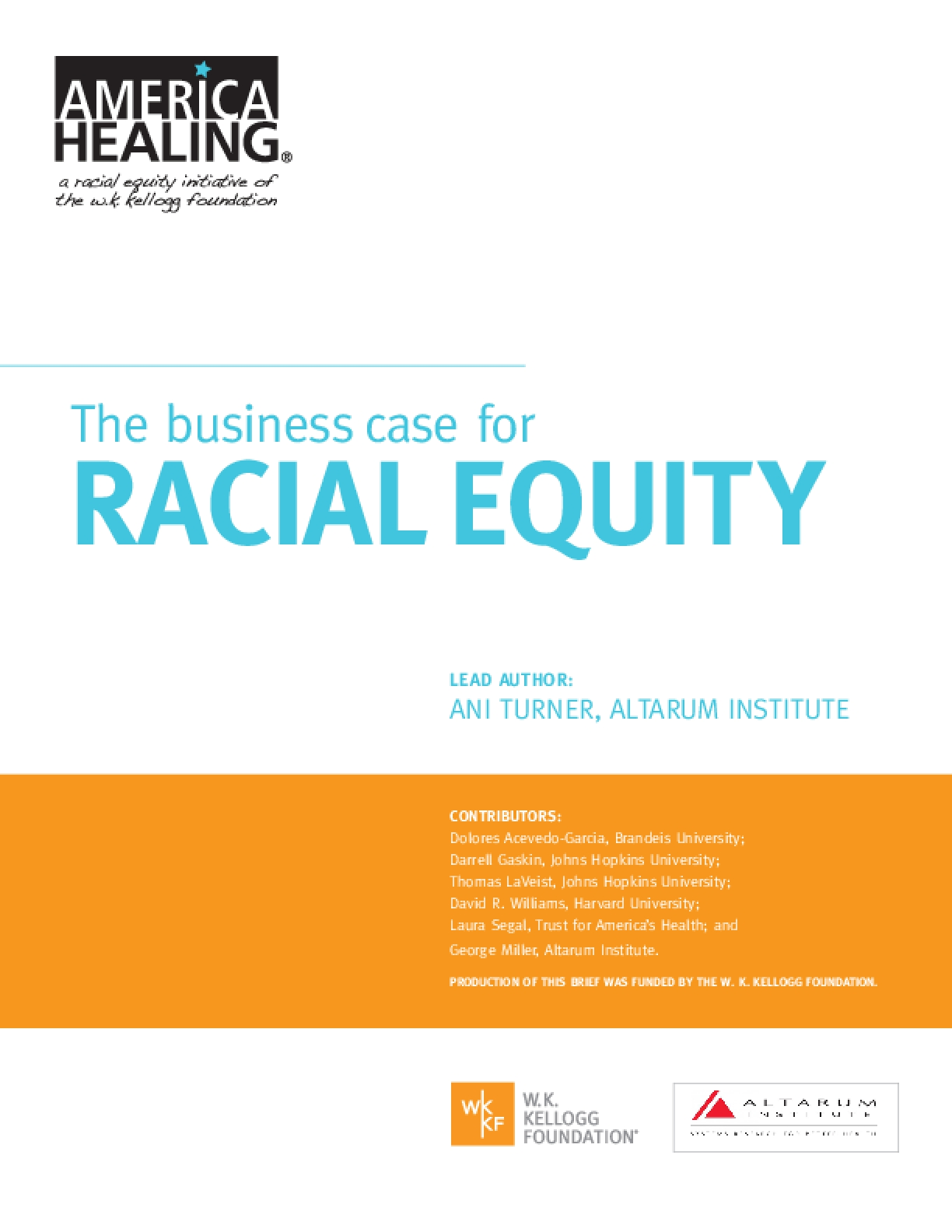 """The Business Case for Racial Equity"" Quantifies the Cost of Racism in the U.S."