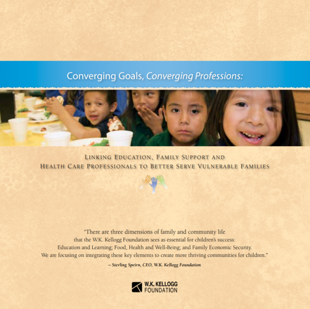Converging Goals, Converging Professions: Linking Education, Family Support and Health Care Professionals to Better Serve Vulnerable Families