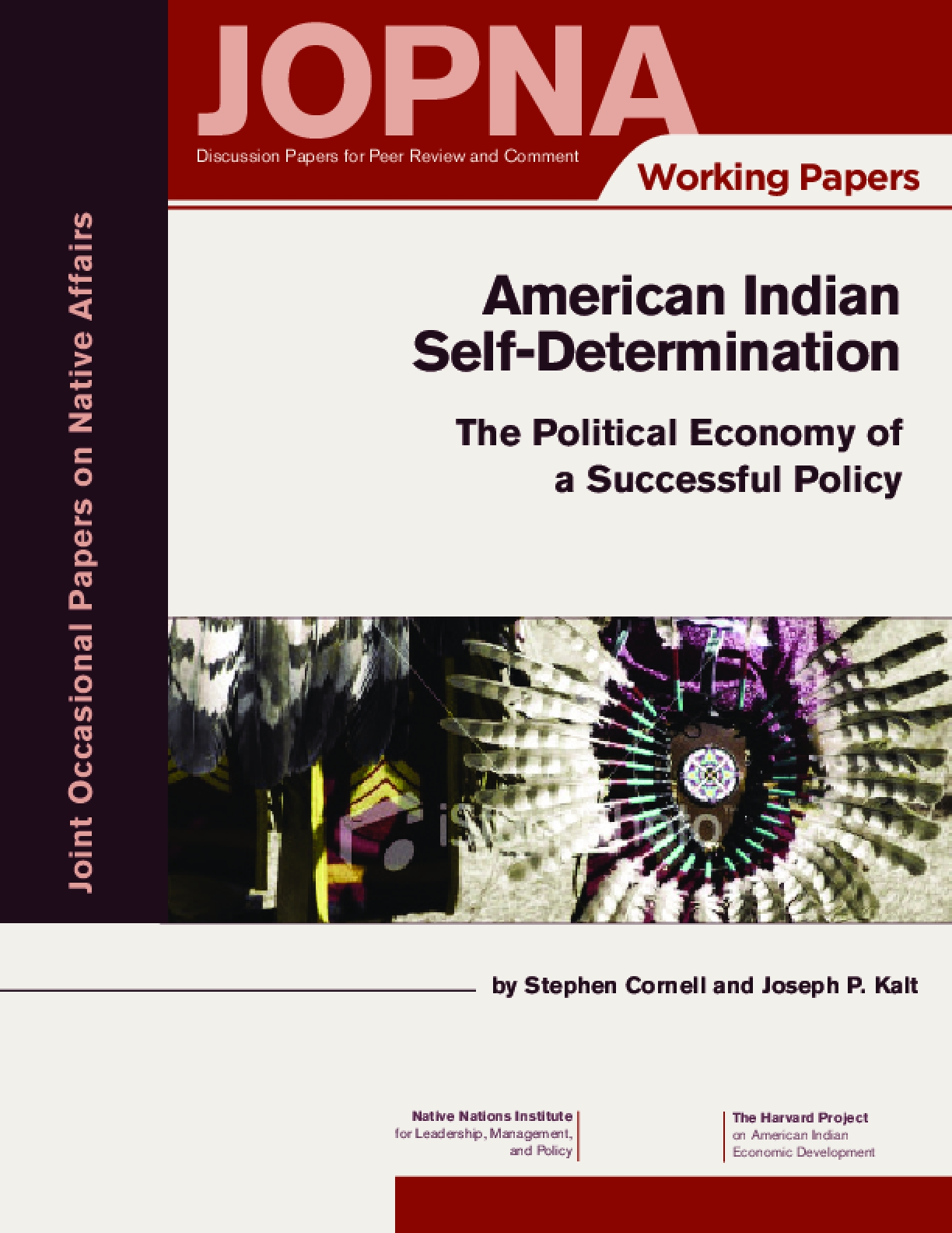 American Indian Self-Determination: The Political Economy of a Successful Policy